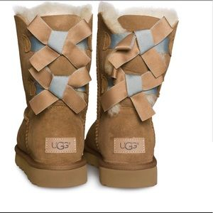 UGG Bailey Bow II Shimmer - New in Box!